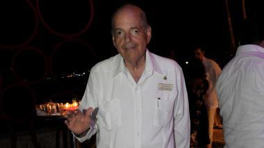 Raimundo Angulo Pizarro, presidente del Concurso Nacional de Belleza.