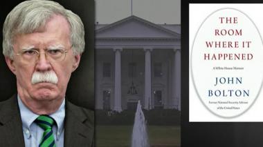 Gobierno de EEUU abre investigación criminal por libro del exasesor Bolton