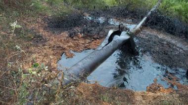 Ecopetrol alerta sobre robo de hidrocarburos con válvulas ilegales