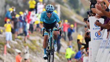 Miguel Ángel López consiguió su primera victoria en el Tour de Francia.