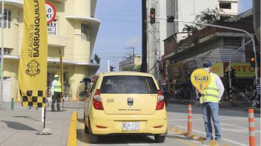 Distrito implementa zonas amarillas amigables aledañas al Paseo Bolívar