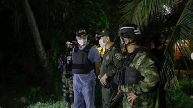 Operativos contra el narcotráfico en La Boquilla: 9 capturas