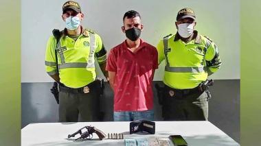 Leonel David Torres Pérez, capturado.
