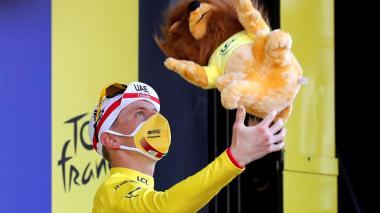 """No pensé que podía ganar"": Tadej Pogacar, campeón del Tour de Francia"