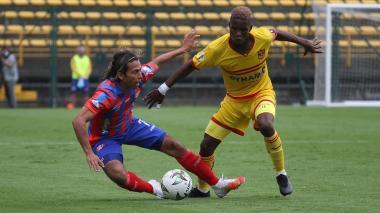El Ciclón perdió 2-1 en su visita a Bogotá