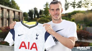 Gareth Bale fue presentado como nuevo jugador del Tottenham