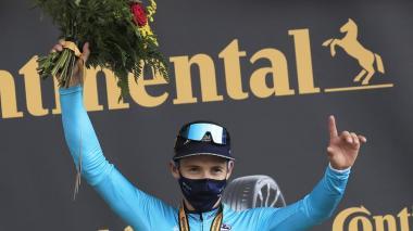 Miguel Ángel 'Supermán' López ganó la etapa reina del Tour de Francia 2020.