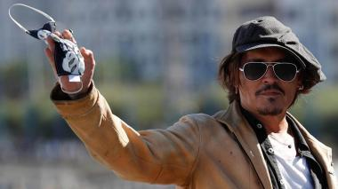 "Johnny Depp sobre Trump: ""Me hace reír, es buena comedia, comedia de terror"""