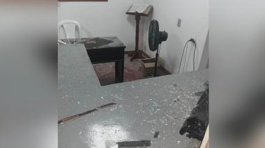 Buscan identificar a autores de atentados en estaciones de Policía en Cesar