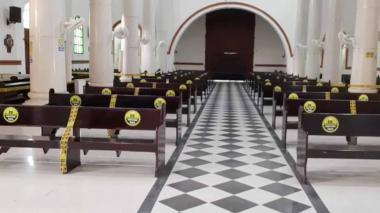 La Catedral de Sincelejo reabre sus puertas el día del patrono