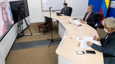 En video | Duque hace llamado a acelerar la transición energética