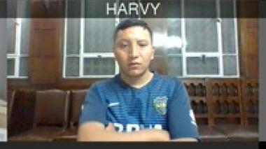 Harby Rodríguez, uno de los patrulleros enviados a la cárcel por el asesinato de Javier Ordóñez.