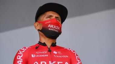 Nairo Quintana, líder del equipo Arkea.