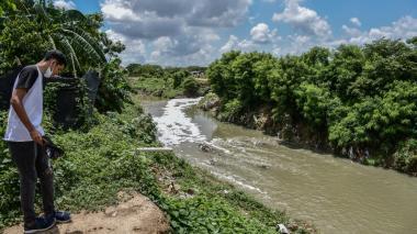 El caudaloso 'León' que recorre  el suroccidente de Barranquilla