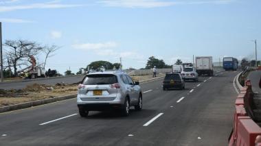 En video | La Virgencita: un tramo abierto al tráfico vehicular