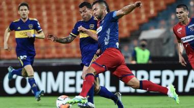 Boca se impone 1-0 y sentencia la eliminación del Dim