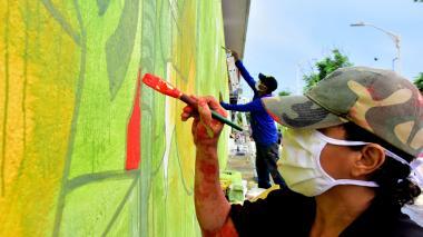 Killart 2020 ya empieza a dejar su huella artística en la ciudad