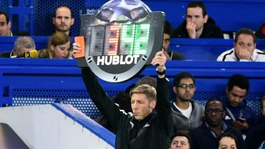 Uefa autoriza los cinco cambios en competiciones europeas