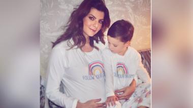Carolina Cruz a la espera de Salvador, su segundo hijo