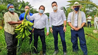 Minagricultura visita zonas productivas de Montería