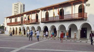 Sede de la Alcaldía de Cartagena.