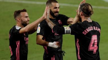 Real Madrid sufre para lograr primer triunfo, con gol de penalti de Ramos