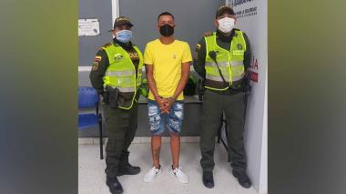 Jorge Manuel Maestre Cervantes, alias Guacamayo, capturado.