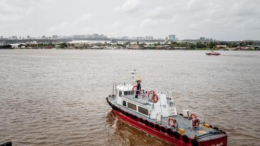La navegabilidad del río Magdalena