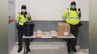 Policía incauta 5 kilos de marihuana cripy