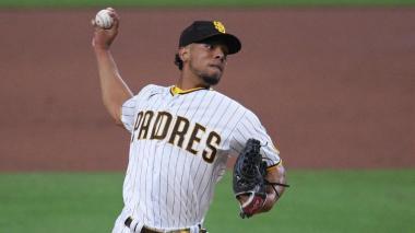 Luis Patiño suma su primer triunfo  en la MLB