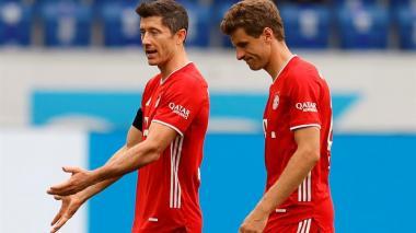 ¡Perdió la máquina! Bayern cayó ante Hoffenheim y soltó invicto de 32 fechas