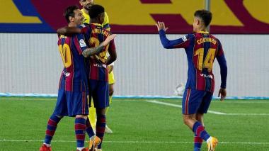 Barcelona goleó 4-0 al Villarreal en el inicio de la era Koeman