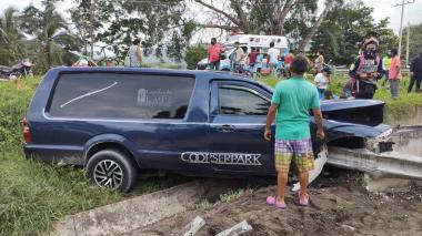 Un muerto y un herido en accidente de carroza fúnebre