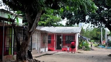 Lugar donde se registró el homicidio de Orlando Varela Arrieta.