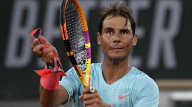 Rafael Nadal superó sin problemas la primera ronda del Roland Garros