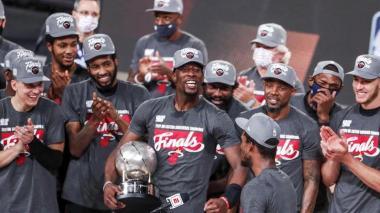 Adebayo, Butler y Herro buscarán dar la sorpresa ante Los Ángeles Lakers
