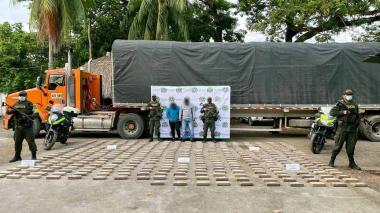 En Córdoba decomisan cargamento de cocaína con destino a Barranquilla