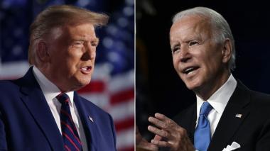 En video | Trump y Biden se preparan para su primer cara a cara