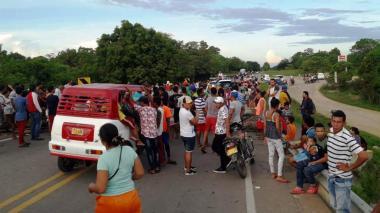 El bloqueo de vías se convirtió en el mecanismo recurrente para manifestar el malestar por el servicio.