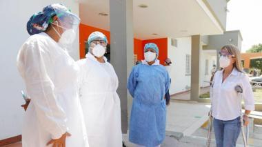 El laboratorio departamental procesa, en promedio, 2 mil pruebas diarias de coronavirus.