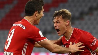 Un gol de rebote de Kimmich le da la supercopa al Bayern