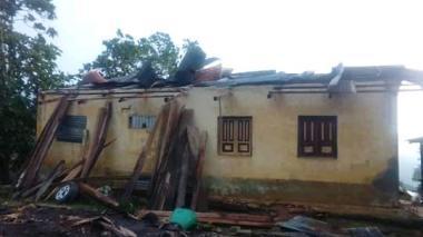 En video | Vendaval causó estragos en la parte alta de Ciénaga, Magdalena