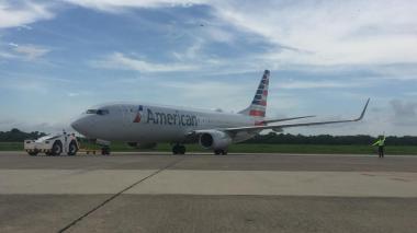 Despegó el primer vuelo hacia Estados Unidos desde el Cortissoz