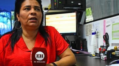 Ada Luz Sierra, representante legal del hogar de paso Caminos de Fe, donde estuvo Angélica Gaitán.