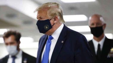Hospitalizan a Trump luego de dar positivo para Covid-19