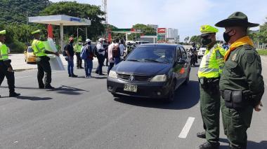 Más de 600 policías vigilarán la semana de receso en Santa Marta