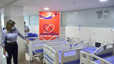 Alcaldía de Santa Marta entrega 14 camas para UCI