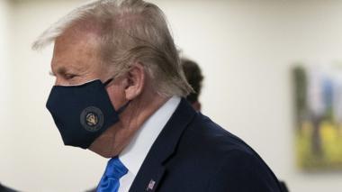 """Mensajes de """"recuperación"""" de todo el mundo para Trump, tras contraer Covid"""