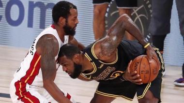 LeBron James está liderando a los Lakers a su título 17 en la NBA.
