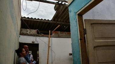 En video | Vendaval destecha más de 50 casas en Soledad
